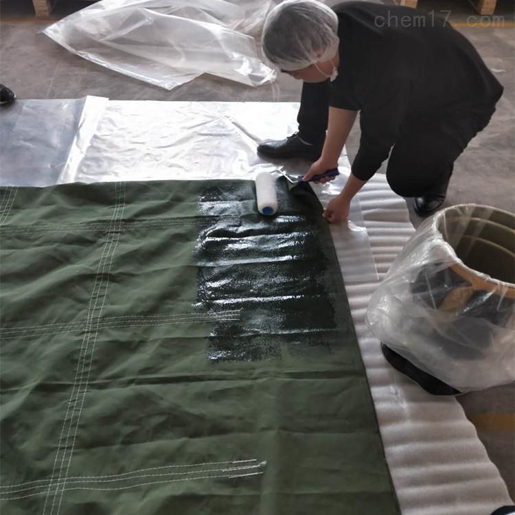 可剥离耐温沥青袋涂覆硅橡胶