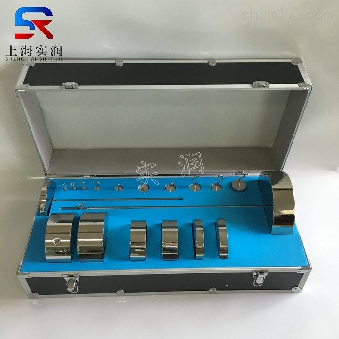 订做带铝箱包装m1等级不锈钢增坨砝码