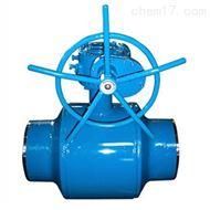 Q361F涡轮全焊接球阀