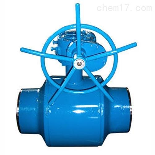 涡轮全焊接球阀Q361F