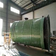 唐山 双筒体  玻璃钢一体化预制泵站厂家