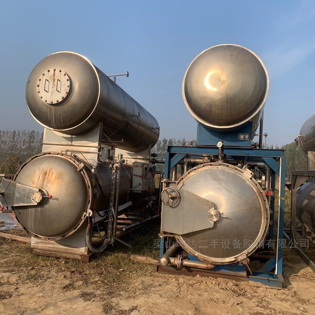 回收二手蒸汽加热双层杀菌锅