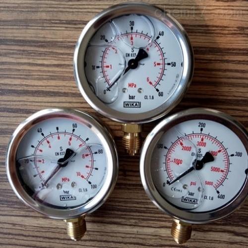 德国威卡WIKA压力测量仪表原装进口特价