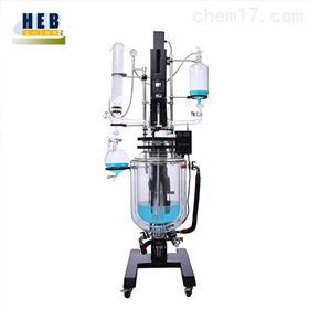 自动升降20L三层玻璃反应釜SJHEB-20L