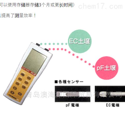 日本藤原fujiwara便携式土壤pF/EC计测量仪