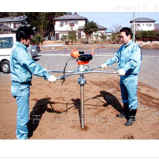 日本fujiwara土壤手动采样器/土壤分析器
