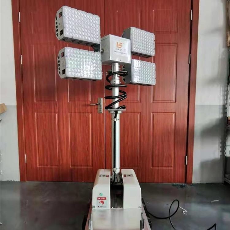 河圣安全 气动式升降灯 大功率照明装置