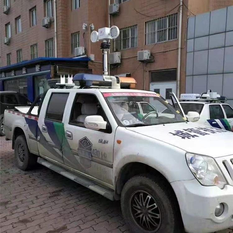 上海河圣 救援车升降照明灯 大功率探照灯