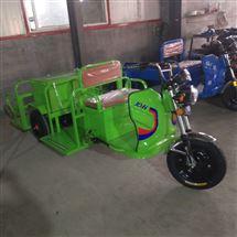 电动四桶环卫车四垃圾桶转运车