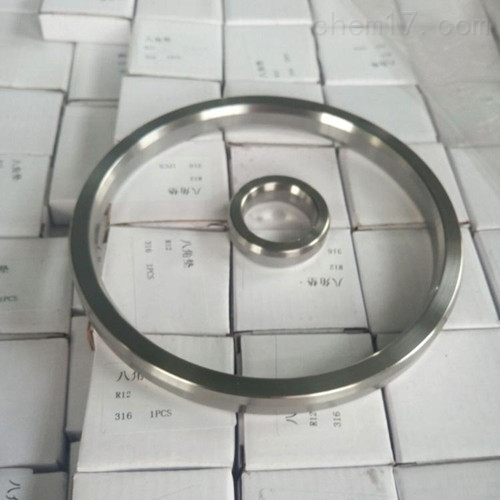 316材质R45不锈钢金属八角环垫现货