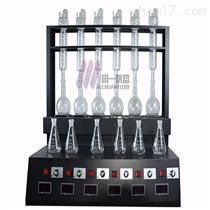武汉一体化蒸馏装置CYZL-6C氨氮蒸馏器