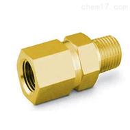B-4CP6-1swagelok黄铜提动阀芯单向阀