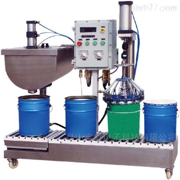 苏州自动锁盖液体灌装机