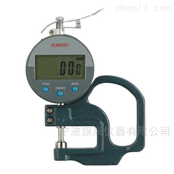 數顯百分皮革測厚儀LP-D1030