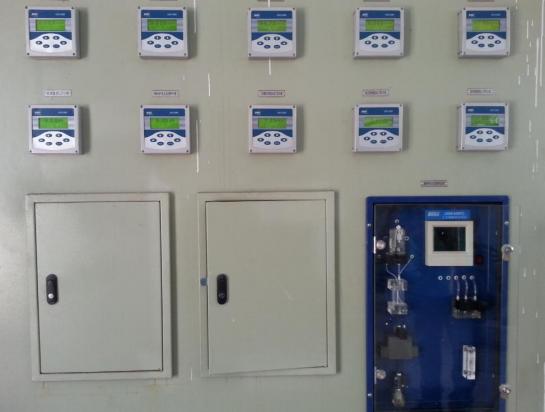 沈陽華潤熱電  鍋爐水取樣架PH 電導率 硅表水質監測項目