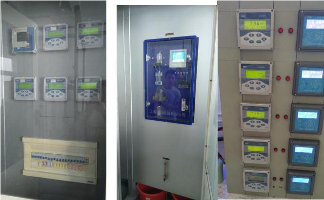 中鹽昆山有限公司鍋爐水PH 電導率 溶解氧 磷表