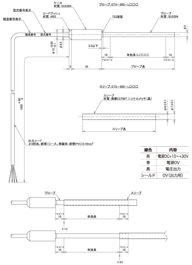 """线性位移传感器""""ET-850"""