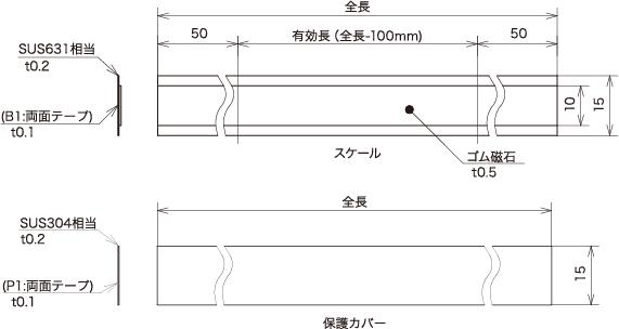 """增量线性编码器磁尺""""SIS-140"""