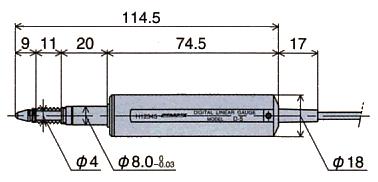 外形尺寸D-5 / D-5S