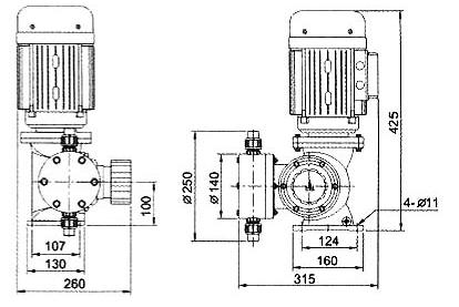 GM系列精密机械隔膜计量泵