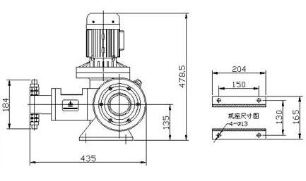 J-Z系列柱塞式计量泵