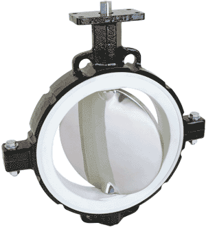 Series 486 Inflatable Seated Butterfly Valve