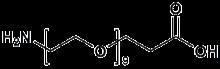 H<sub>2</sub>N-PEG<sub>9</sub>-CH<sub>2</sub>CH<sub>2</sub>COOH