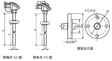 WRK-240/WRK240 装配式热电偶