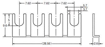 G6D-F4PU / G3DZ-F4PU, G6D-F4B / G3DZ-F4B 外形尺寸 8