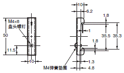 G6D-F4PU / G3DZ-F4PU, G6D-F4B / G3DZ-F4B 外形尺寸 11
