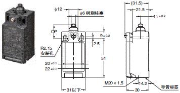 D4NE 外形尺寸 1