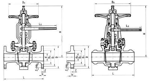 X44H外形尺寸图
