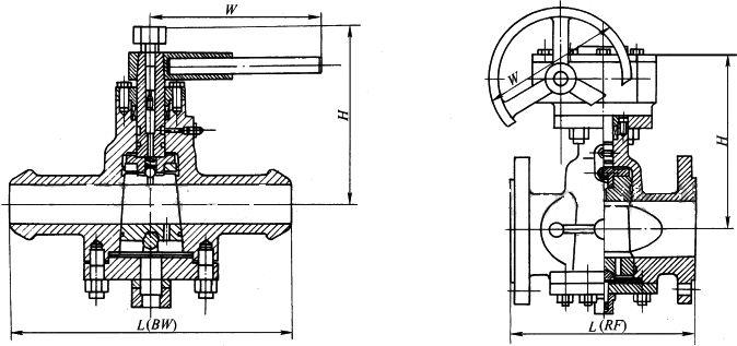 ZDAX47型外形尺寸图