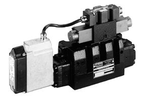 Parker派克D*6FH系列先导式比例换向阀