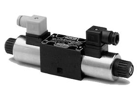 Parker派克D1DW系列5油腔电磁换向阀