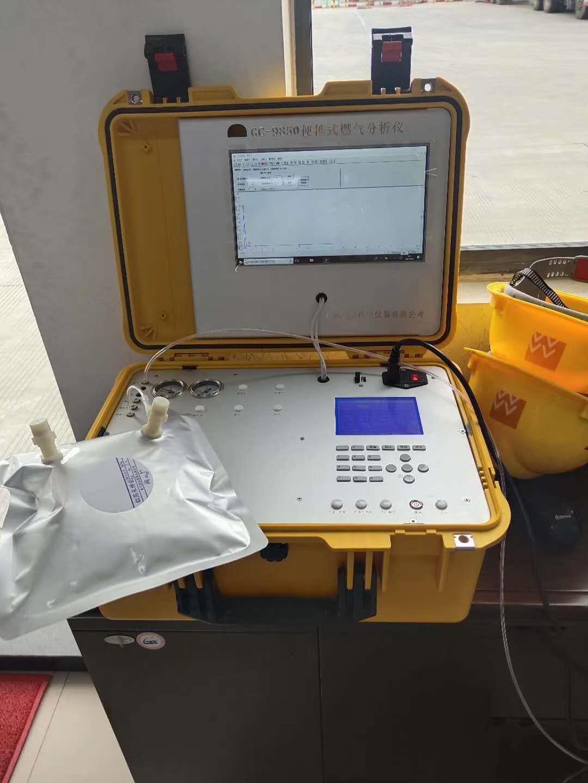 天然气分析仪  气相色谱仪采样袋图片
