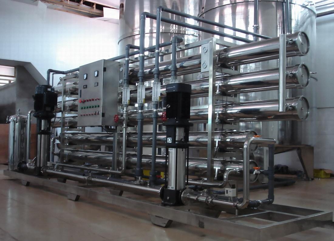 不锈钢纯化水设备