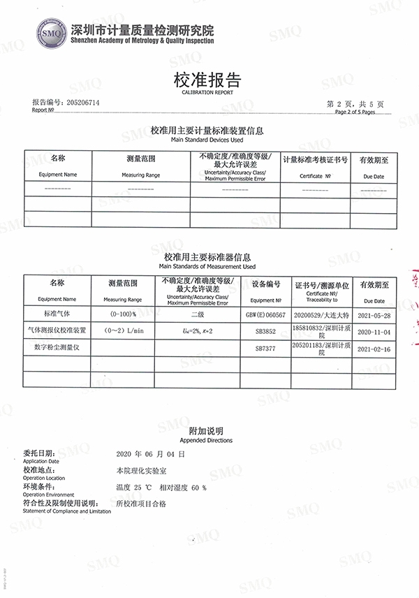 空气质量环境监测仪报告2